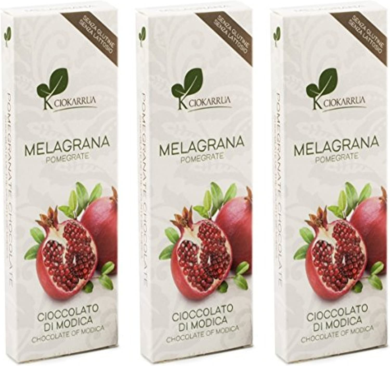 Chocolate de Modica con granada CIOKARRUA (3 tabletas)