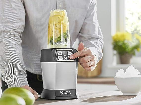 Ninja BL480 Blender, Servicio Individual, Auto-Iq, 1000 W, Acero ...