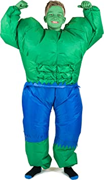 Bodysocks® Disfraz Hinchable de Hulk Niño: Amazon.es: Juguetes ...