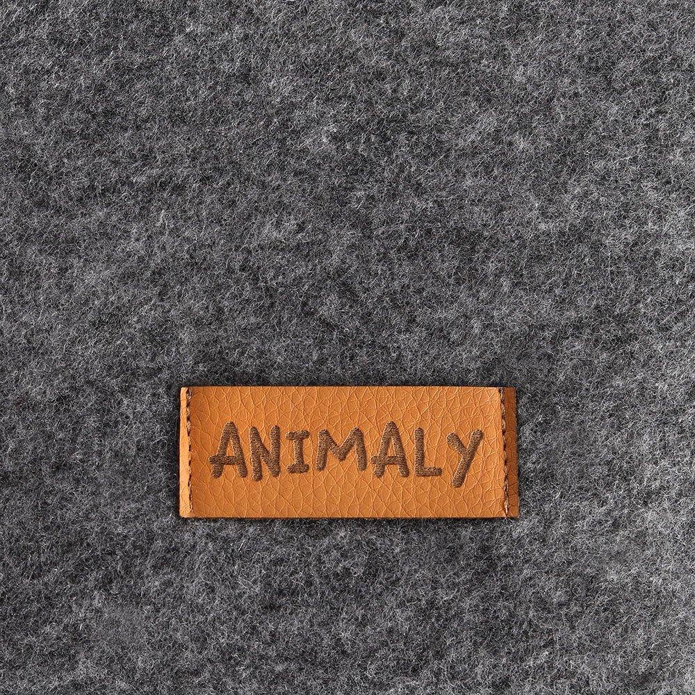 Morbido Leggero MYANIMALY Simply Divano//Letto per Animali 120cm x 75cm x 22cm Stabile per Cani e Gatti in Feltro Universale per Animali Domestici Piccoli e Grandi XL