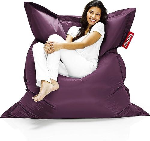 Fatboy The Original Bean Bag Chair, Large, Dark Purple