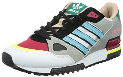 wholesale dealer 98976 0ddbf Adidas Zx 750, White red black green, 9 M Us