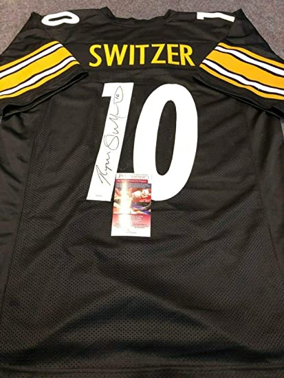 e36f945928a Image Unavailable. Image not available for. Color: PITTSBURGH STEELERS RYAN  SWITZER AUTOGRAPHED SIGNED JERSEY JSA COA