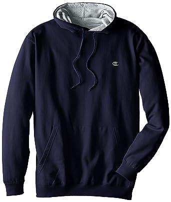 ad7b0654b53a Champion Men s Big-Tall Fleece Pullover Hoodie at Amazon Men s ...