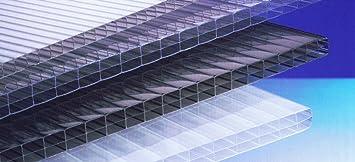 Polycarbonat Hohlkammerplatten 16 Mm Klar Dreifachsteg 5000 X