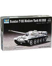 Trumpeter TR07282 1/72 Russian T55 M1958 Tank, Medium