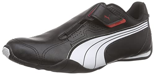 Puma Redon Move, Zapatillas bajas para Unisex adulto, Negro (Black/White/Red 02), 40.5 EU