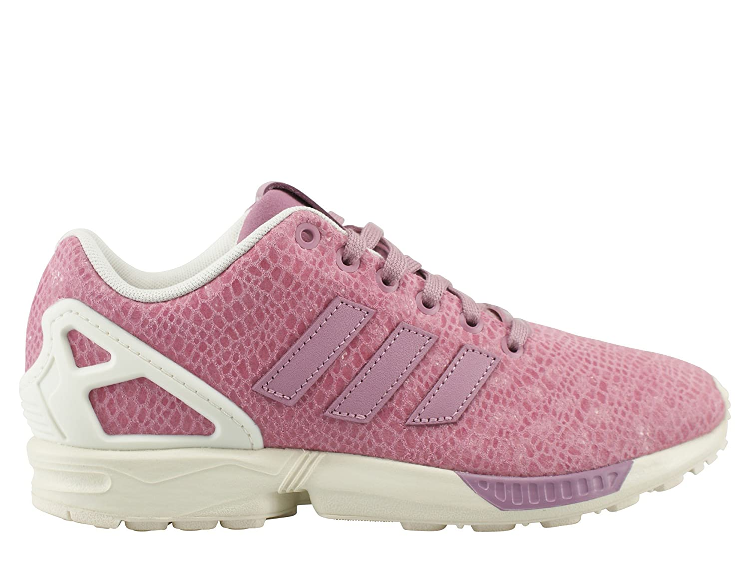 339376033 Adidas Zx Flux Trainers Pink  Amazon.co.uk  Shoes   Bags