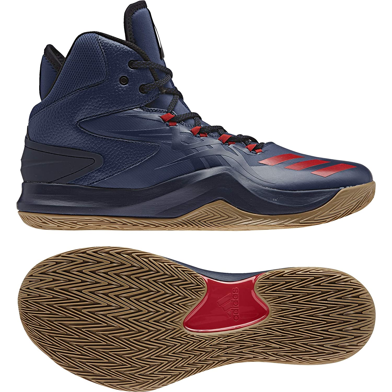 Adidas Herren D Rosa Dominate Iv Basketballschuhe, Blau Blau Basketballschuhe, (Azumis Escarl Maruni), 48 EU dbdae6