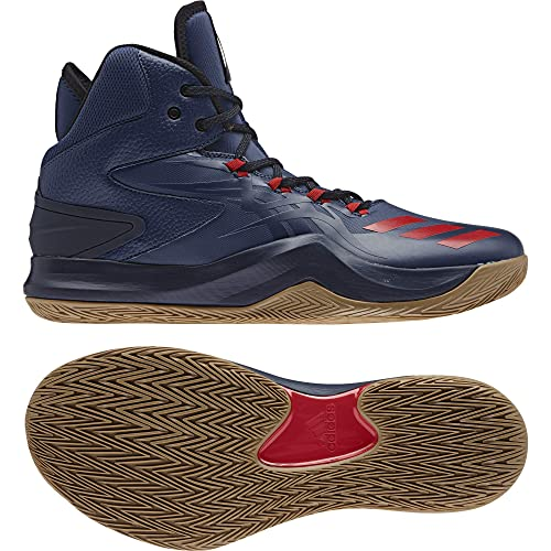 check out 28f42 d130e adidas D Rose Dominate IV, Scarpe da Basket Uomo, Blu  (AzumisEscarlMaruni), 51 EU Amazon.it Scarpe e borse