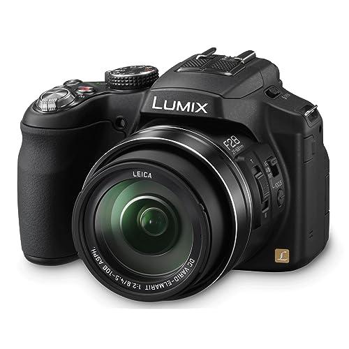 Panasonic Lumix DMC-FZ200 Appareil photo Bridge 12,1 Mpix Zoom optique Leica Elmarit 24x 3D Noir