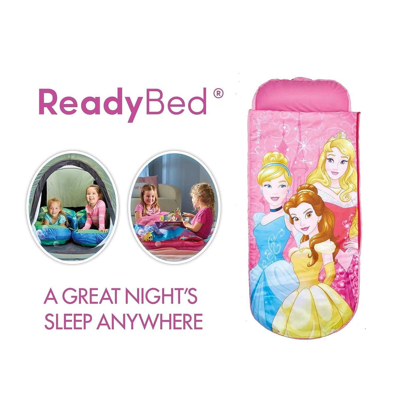 Disney Princess ReadyBed - Saco de Dormir y Cama de Matrimonio