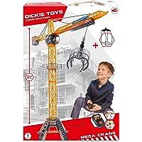 Dickie Toys 203462412 - Mega Kraan, Elektrische Kraan met Afstandsbediening, voor Kinderen vanaf 3 jaar, 203462411, 120…