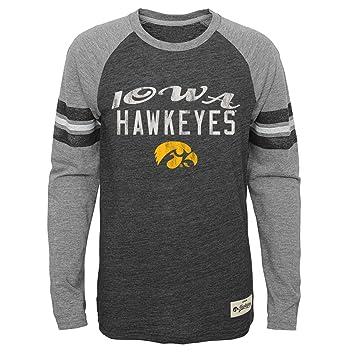 Adidas Iowa Hawkeyes NCAA Juventud fútbol Pride Camiseta de Manga Larga - Negro, Negro: Amazon.es: Deportes y aire libre