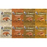 Honey Stinger Waffle 4 Flavor Variety Pack (Pack of 8)