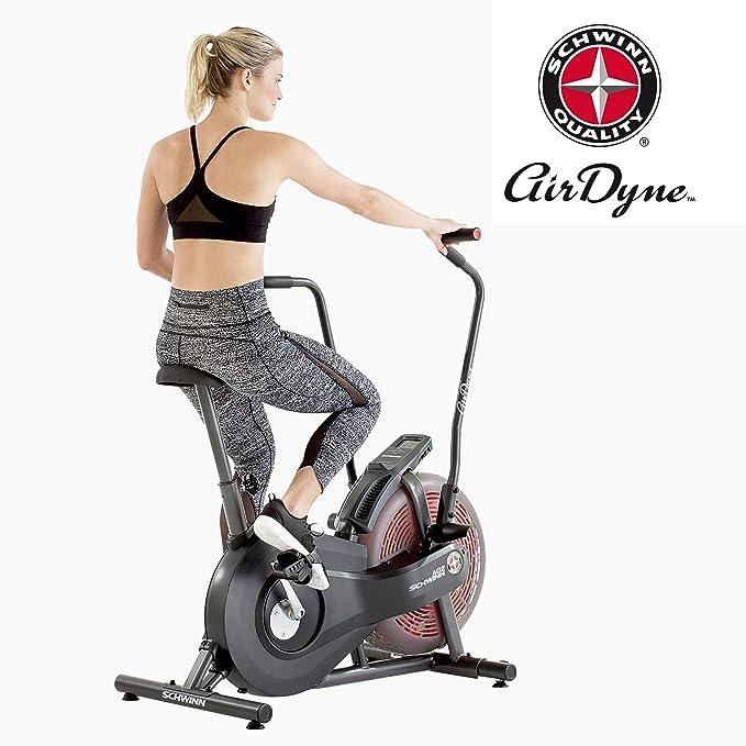 Schwinn Bicicleta estática Airdyne AD2: Amazon.es: Deportes y aire ...