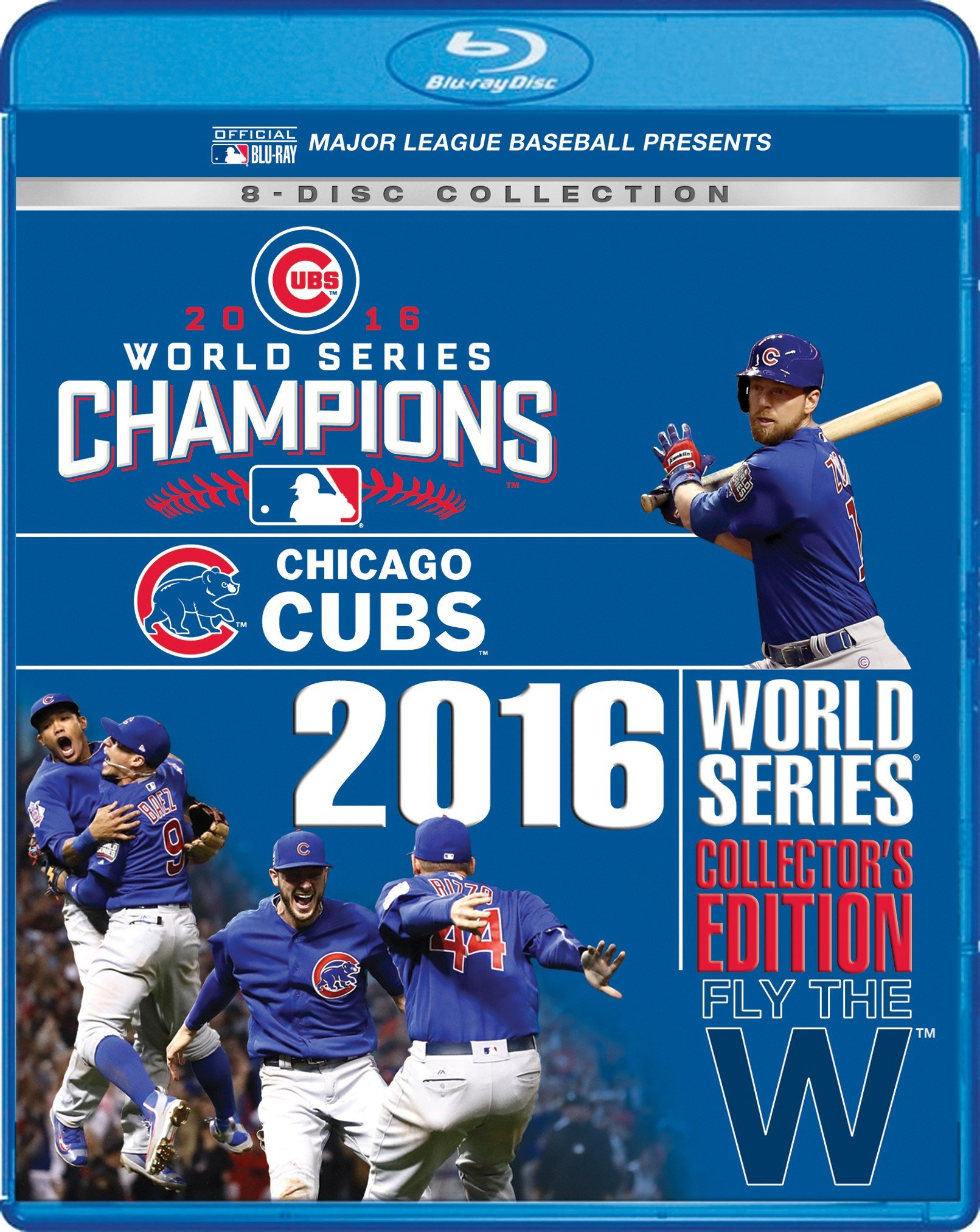 Blu-ray : Chicago Cubs 2016 World Series (collector's Edition) (Collector's Edition, Boxed Set, Widescreen, 8PC)