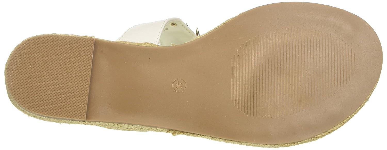 Versace Jeans Damen Weiß Scarpa Zehentrenner (Nero), Größe Weiß Damen (Bianco Ottico E003) b8051f