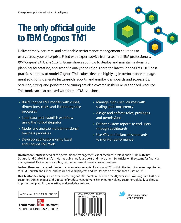 The ibm ebook guide tm1 official cognos