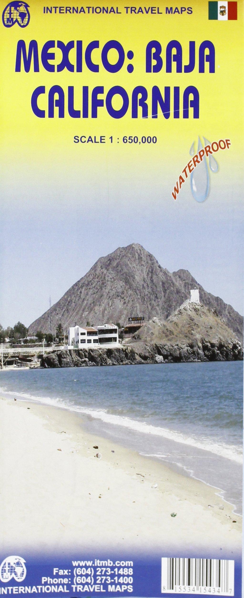 1. Mexico: Baja California Travel Reference Map 1:650, 000 ...