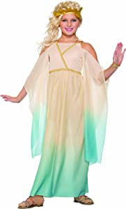 Forum Novelties Kids Lovely Goddess Costume, Multicolor, Large