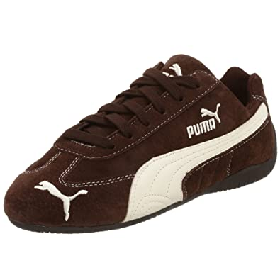 the best attitude f3529 bc45a PUMA Women s Speed Cat SD US Sneaker,Brown White,6.5 ...