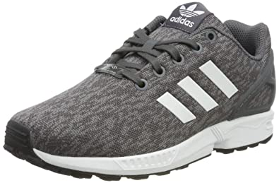 size 40 16f95 914fa adidas ZX Flux J By9833, Sneakers Basses Mixte Enfant, Gris (Gray),