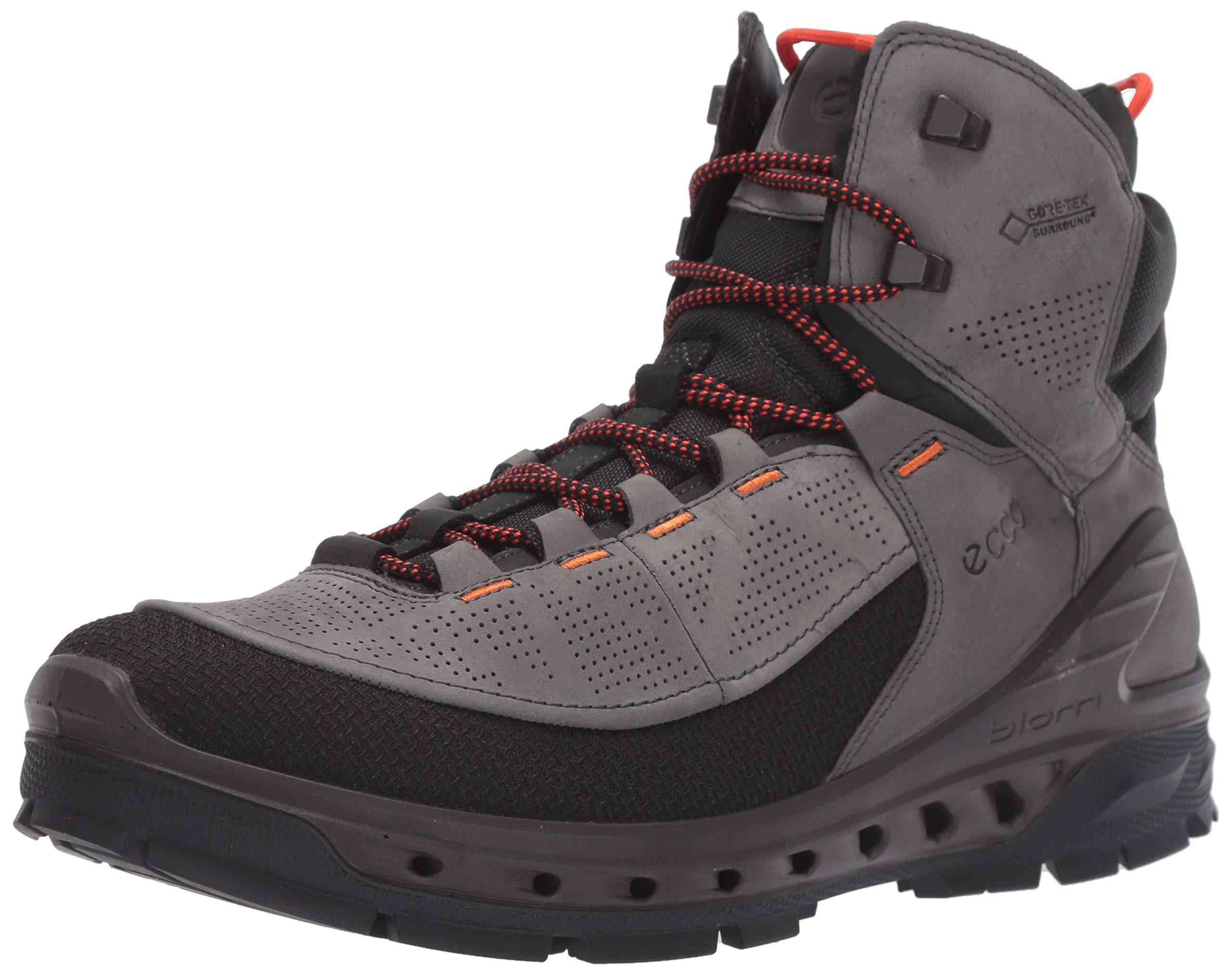ECCO Men's Biom Venture Tr Gore-tex Hiking Boot, Black/Dark Shadow/Yak Nubuck, 41 M EU (7-7.5 US) by ECCO