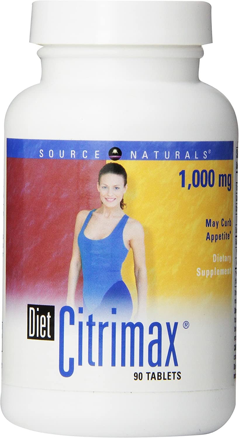 Source Naturals Diet Citrimax 1000mg, 90 Tablets