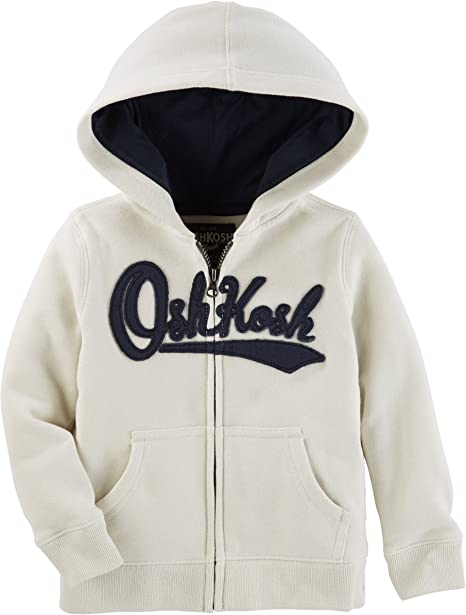 OshKosh B/'Gosh Infant Boys Patriotic Flag Print Zip-Up Hoodie NWT hooded jacket