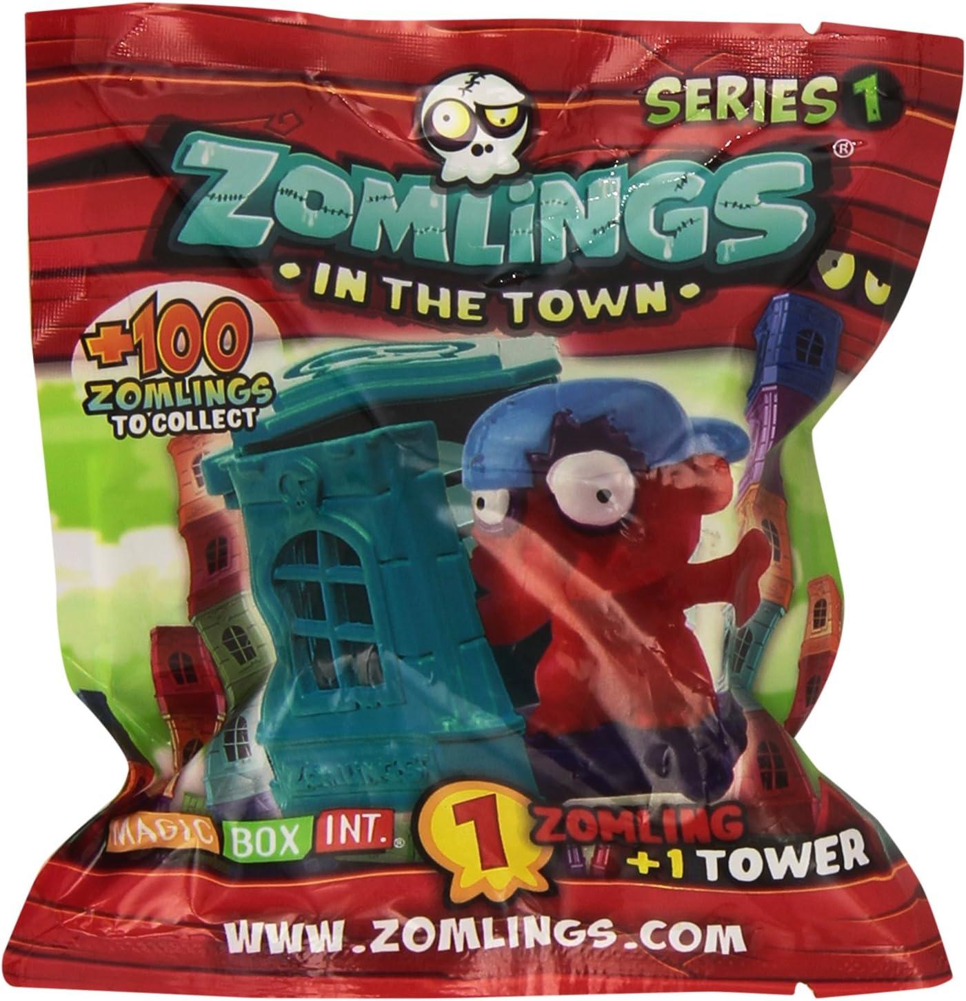 Zomlings - Set de torre y figura, modelo aleatorio (MBX003244): Amazon.es: Juguetes y juegos