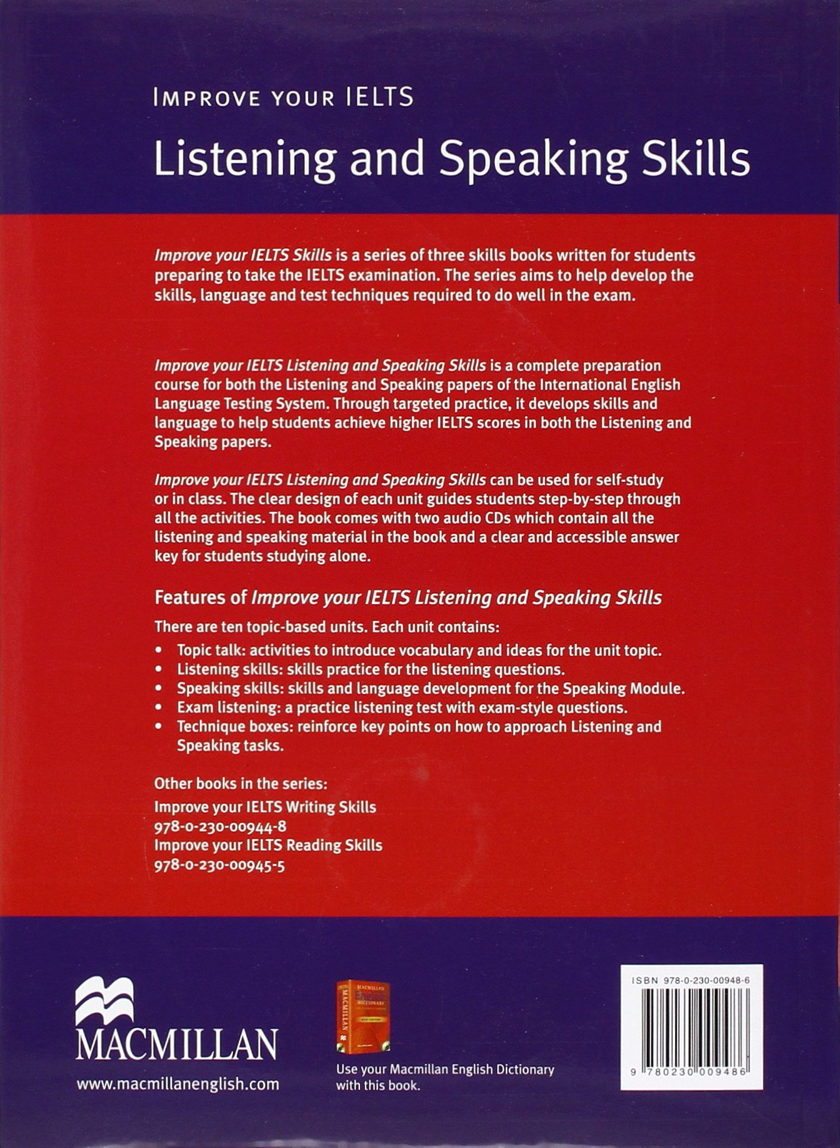 Listening & Speaking Skills: Barry Cusack: 9780230009486: Amazon.com: Books