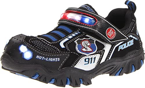 Amazoncom Skechers Kids 90348l Damager Police Ii Light Up Sneaker