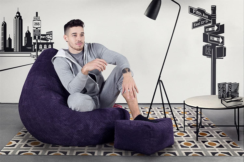 lounge pug pom pom bean bag chairs highback gaming chair