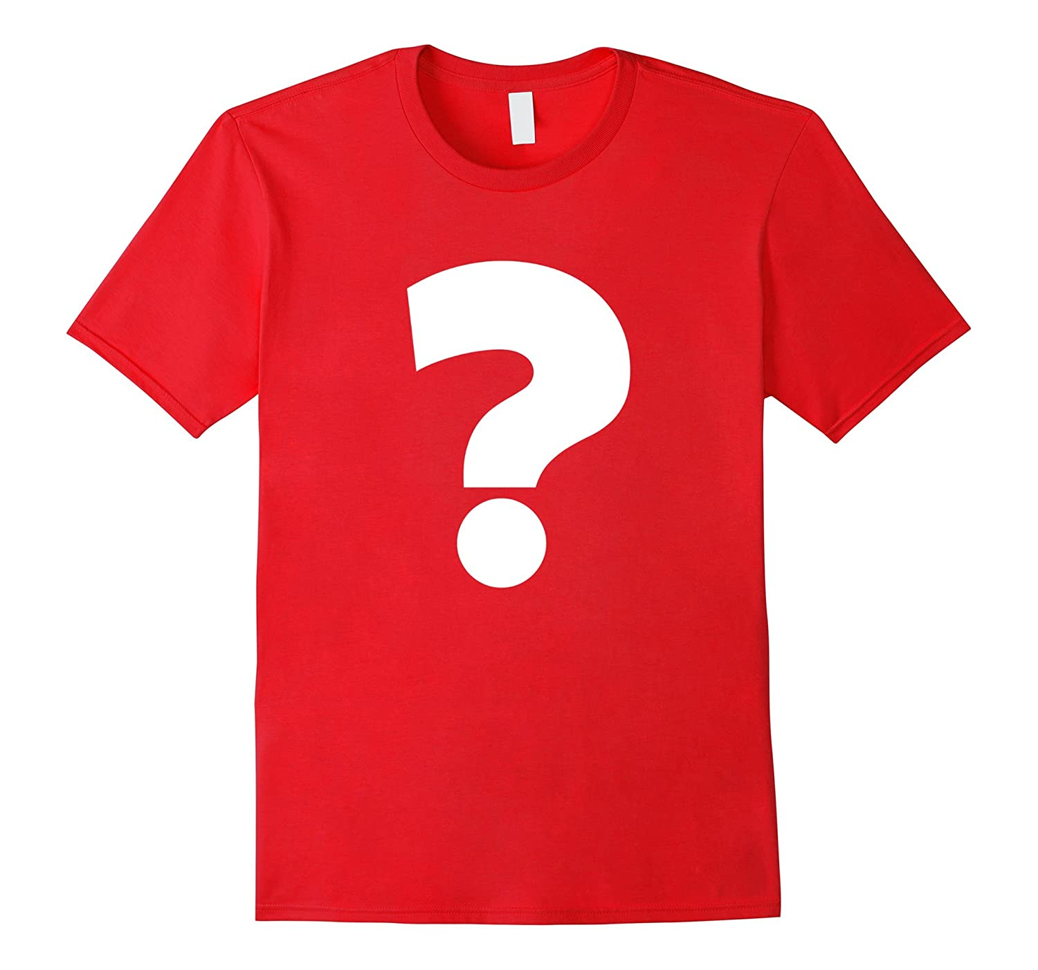 Spell It Out Alphabet T Shirt Question Mark-TH