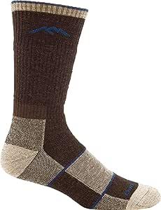 Darn Tough Hiker Boot Sock Full Cushion, Chocolate, L,Mens