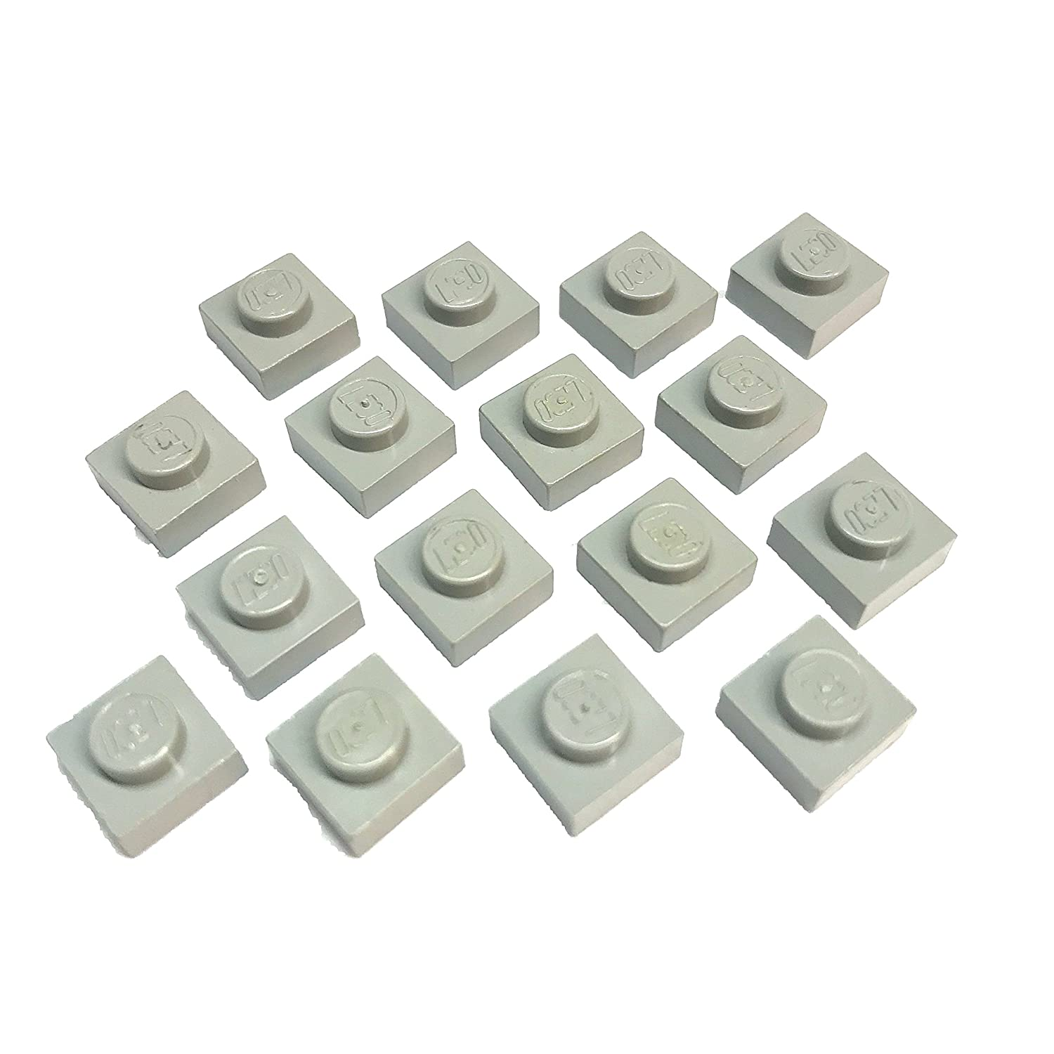 LEGO® Light Gray Plate 1 x 1 Part 3024