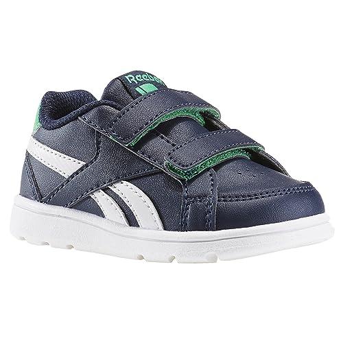 Reebok BD2395, Zapatillas de Deporte para Niños, Azul (Navy/Bottle Green/