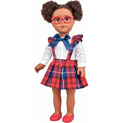 "myLife Brand Products My Life As Poseable 18"" School Girl Doll - African American: Toys & Games"