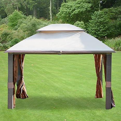 Cubierta Superior de Repuesto para toldo de jardín para la Carpa Revella 350: Amazon.es: Jardín