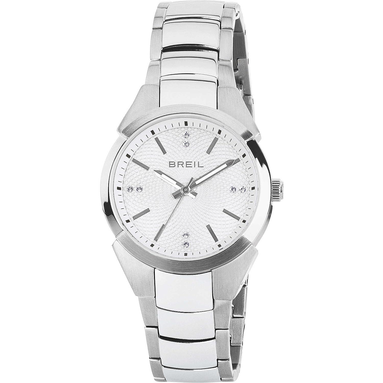 BREIL Uhren Gap Swarovski Damen Uhrzeit Weiss - TW1476
