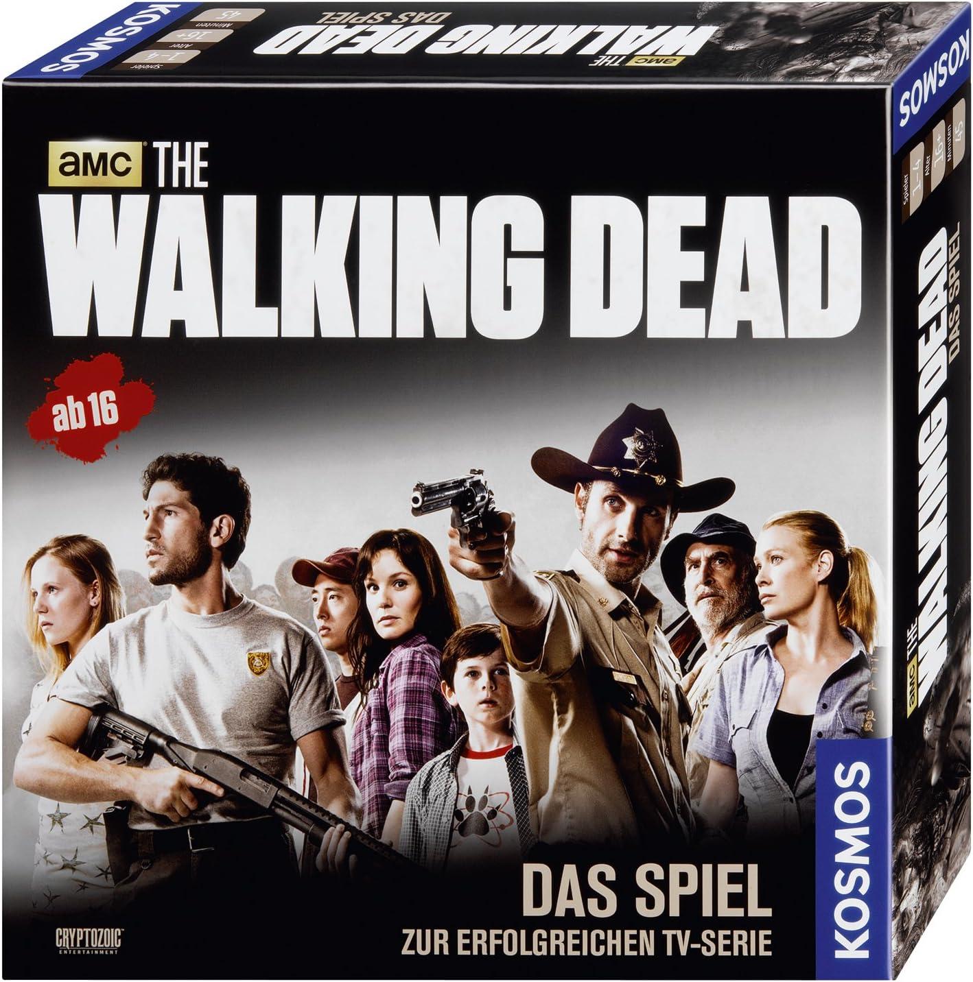 KOSMOS The Walking Dead Juego de rol - Juego de Tablero (Juego de rol, 45 min, 16 año(s), 297 mm, 297 mm, 74 mm): Amazon.es: Juguetes y juegos