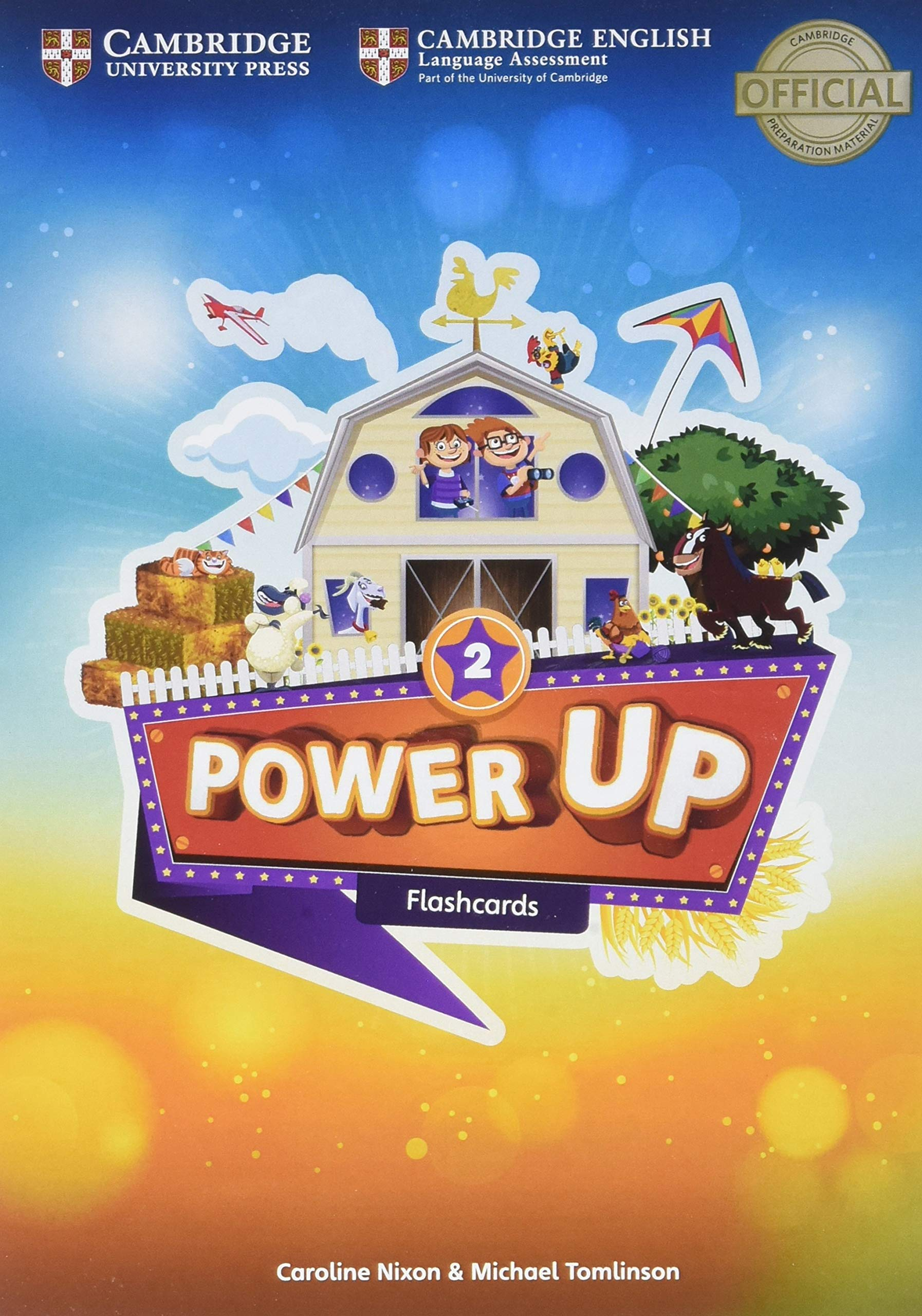 Power Up Level 2 Flashcards (Pack of 180): Caroline Nixon