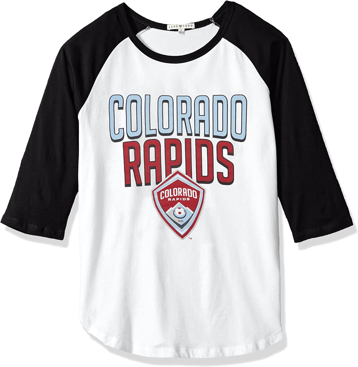 Junk Food MLS Womens Womens MLS 3/4 Raglan Tee