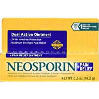 Neosporin + Pain Relief Ointment,0.50 oz