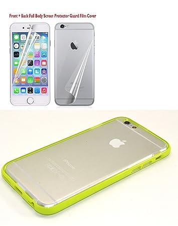 Amazon.com: iPhone 6 Carcasa con protector de visualización ...