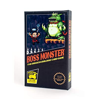 Brotherwise Games Boss Monster: The Dungeon Building Card Game: Toys & Games