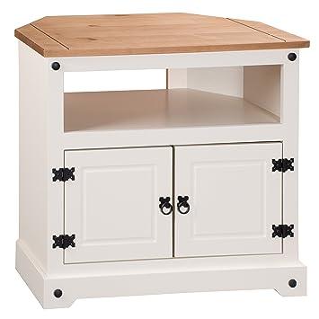 mercers furniture corona-mobile ad angolo per tv, legno, colore ... - Mobile Ad Angolo Per Cucina