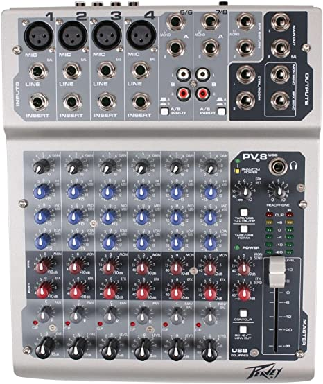 Peavey 3513352 - Mesa de mezclas: Amazon.es: Instrumentos musicales