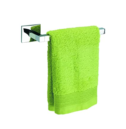 Amazon.com: Baño Diseño LUK collection Small Towel Rail with Adhesive, Bidet Towel Holder, Small Hand Towel Holder, Upscale Chrome Hand Towel Bar: Home & ...